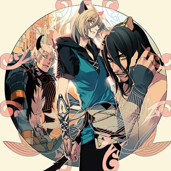 Lamento -BEYOND THE VOID- DRAMA CD Vol.3